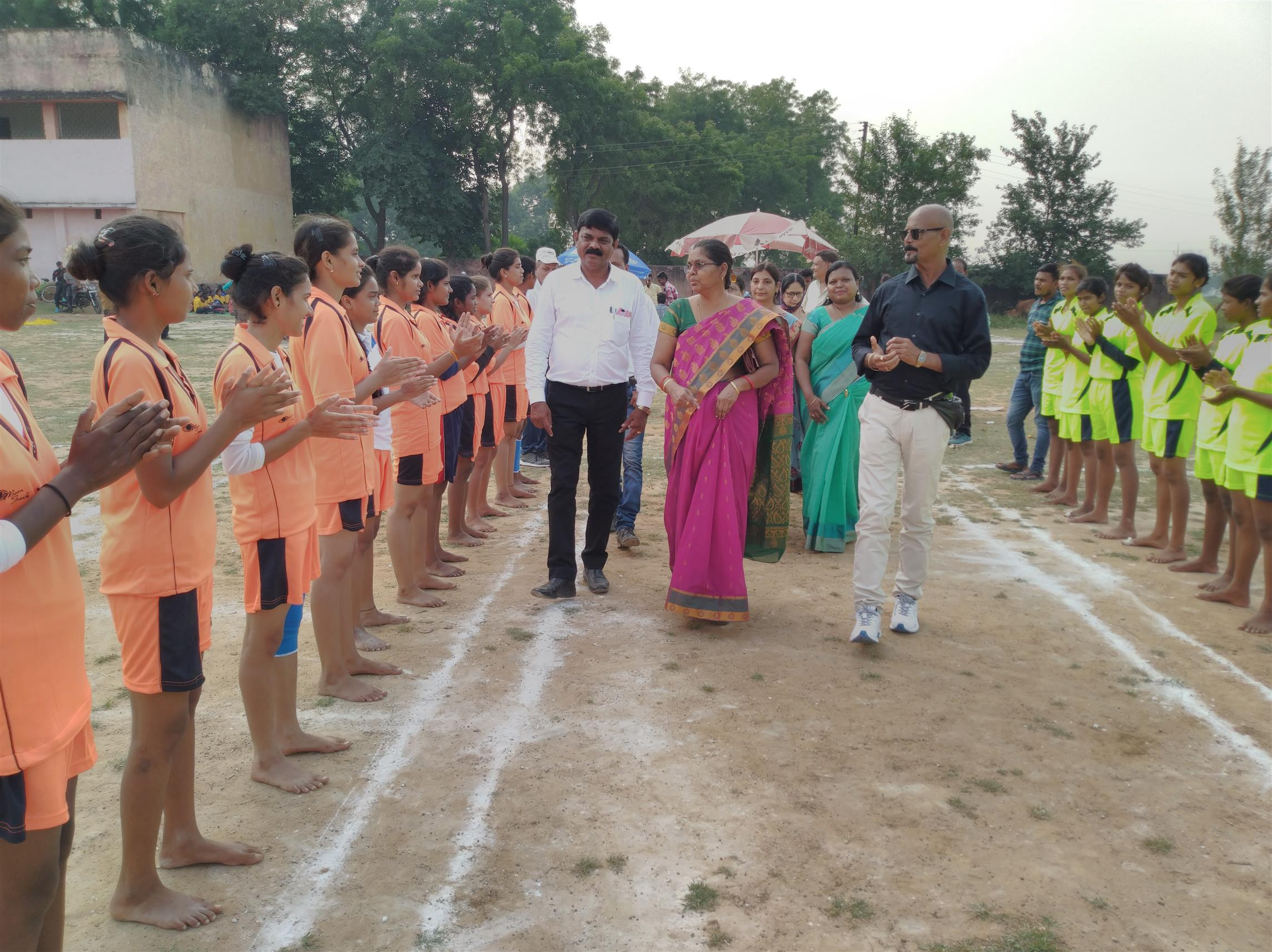 Sector Level Girls Kho-kho